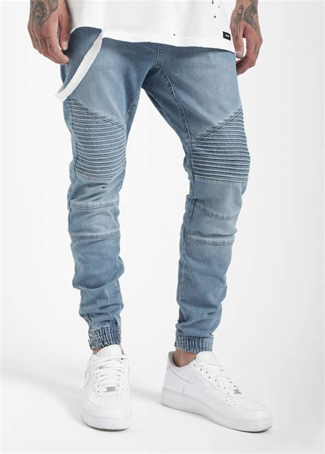 Jogger Cool Denim denim joggers for unique orange denim
