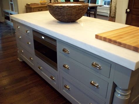 kitchen island with microwave drawer kitchen with wolf microwave drawer traditional kitchen