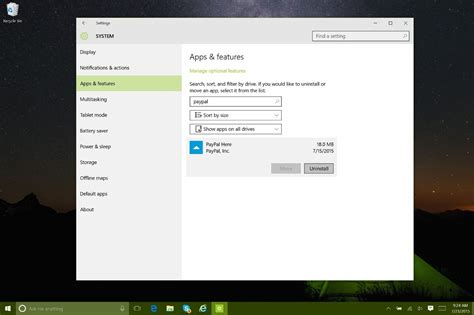 How To Uninstall And Re Install System Apps From Windows 10 | how to uninstall and re install system apps from windows