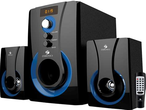 buy zebronics 2 1 multimedia sw2490 rucf home audio