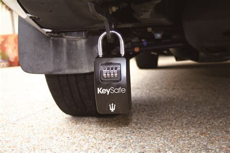 keysafe portable car key safe lock box