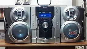 Image result for Sharp 5 CD Stereo System