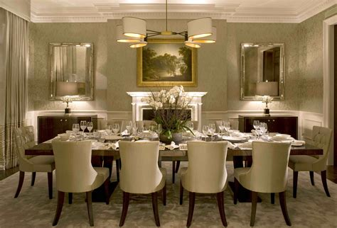 Decorating Dining Room Tables by Formal Dining Room Decor Ideas The Interior Design