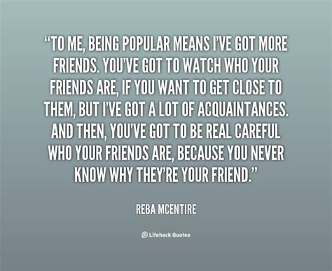 Popular Quotes Quotes About Being Popular Quotesgram