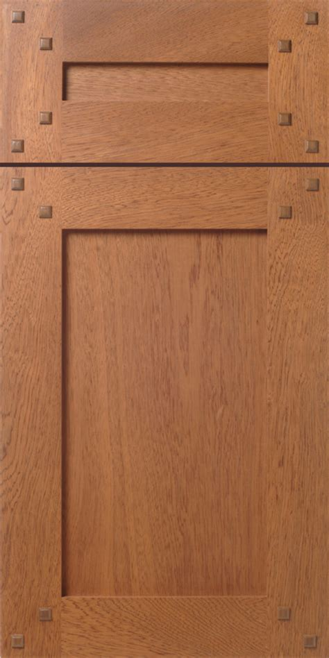Craftsman Style Cabinet Doors Craftsman Shaker Style Mahogany Cabinet Drawer Front With Walnut Pegs Buttons From Walzcraft