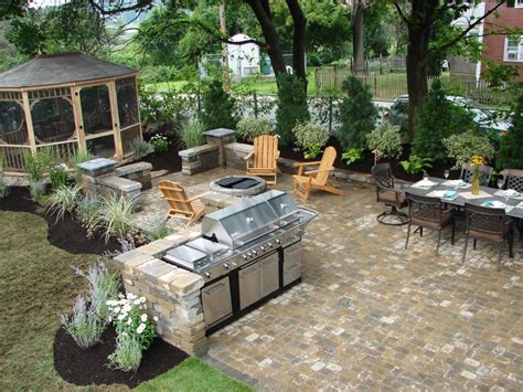 patio space outdoor entertaining diy