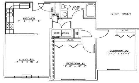 floor plan of 2 bedroom house 2 bedroom house simple plan 2 bedroom house floor plans