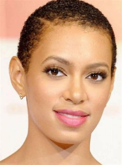 short hair cut for african women with round face short haircuts for black women with round faces
