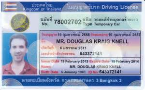Driver s licenses in thailand amp driving in thailand