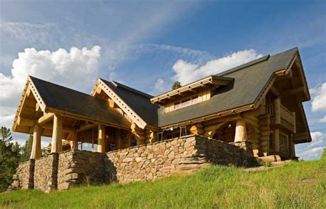 Handcraft Homes - getting away to it all a handcrafted montana home