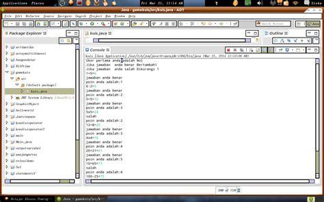 membuat game kuis dengan java java programming game kuis sederhana menggunakan java