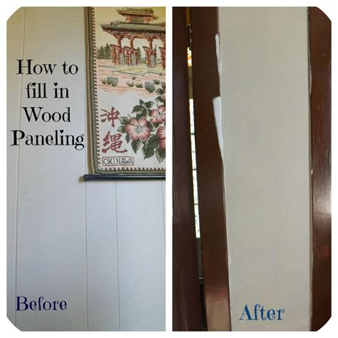 how to cover paneling confessions of an add english teacher how to fill in wood