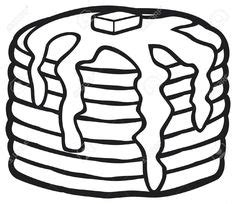 coloring pages of pan cake loads of pancakes coloring page preschool shapes