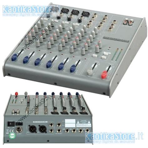Mixer Bell Up mixer dap audio session 8 canali dj karaoke piano bar