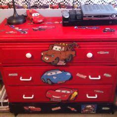 Lightning Mcqueen Dresser by Lightning Mcqueen Race Car Bed And A Toolbox Dresser W