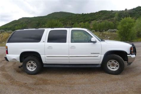 buy used 2005 gmc yukon xl 2500 slt 4x4 v8 6 0l in aspen colorado united states