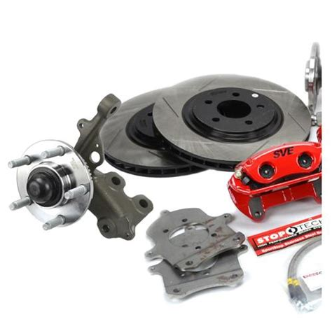 sve mustang 5 lug conversion kit 28 spline 87 93