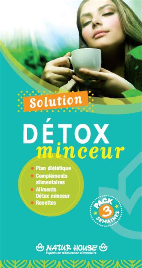 Detox Säfte Im Supermarkt by Naturhouse Propose Sa Solution Detox Minceur Pour Liminer