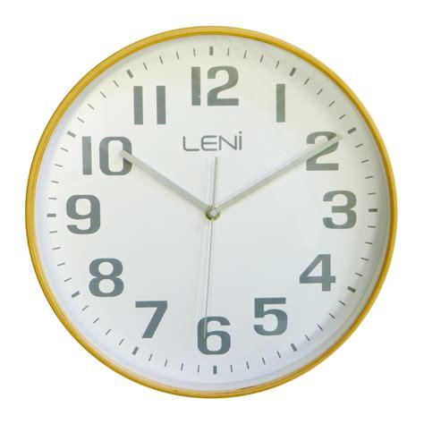 buy clock buy leni white wooden wall clock small wallet online