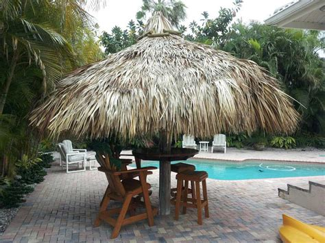 Tiki Hut Cost custom made palm trees residential tiki huts