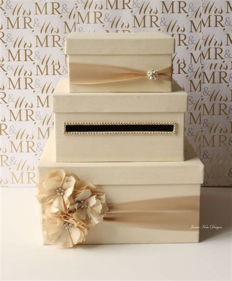 Wedding Card Gift Box - wedding card box money box gift card holder choose your