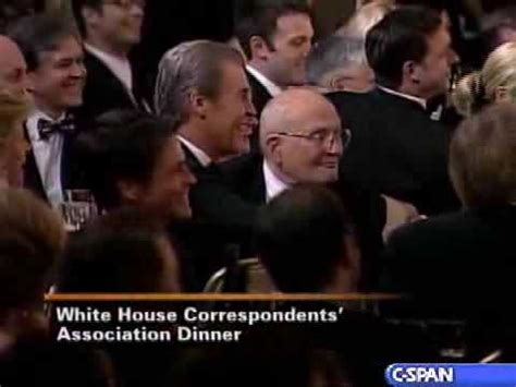 white house correspondents dinner youtube pres bush at 94th annual white house correspondents
