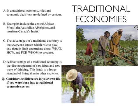 the definition of traditional economy economic systems defined