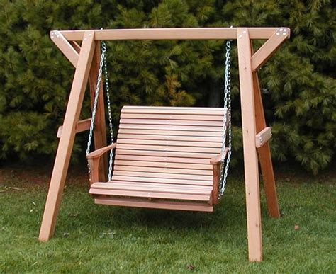 wooden lovers porch swing bench  frame