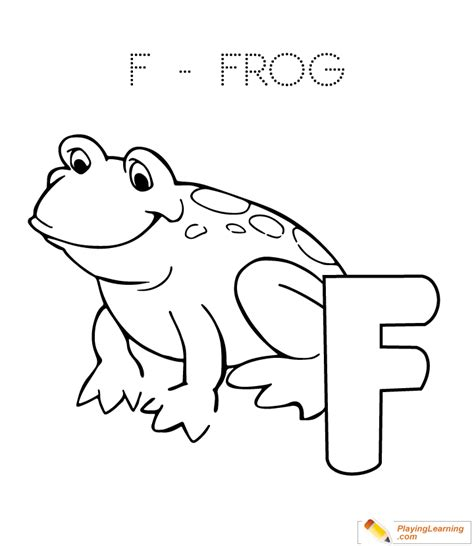 F Frog Coloring Page by F Is For Frog Coloring Page Free F Is For Frog Coloring Page