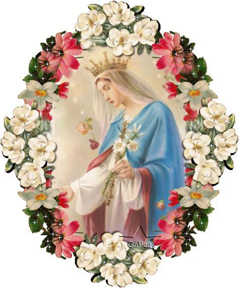 imagenes de la virgen maria en movimiento madre celestial las 3 oraciones diarias a la virgen maria