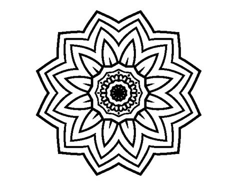 sunflower mandala coloring pages flower mandala of sunflower coloring page coloringcrew com
