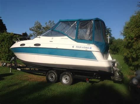 boats for sale brockville four winns 258 vista 1995 used boat for sale in brockville