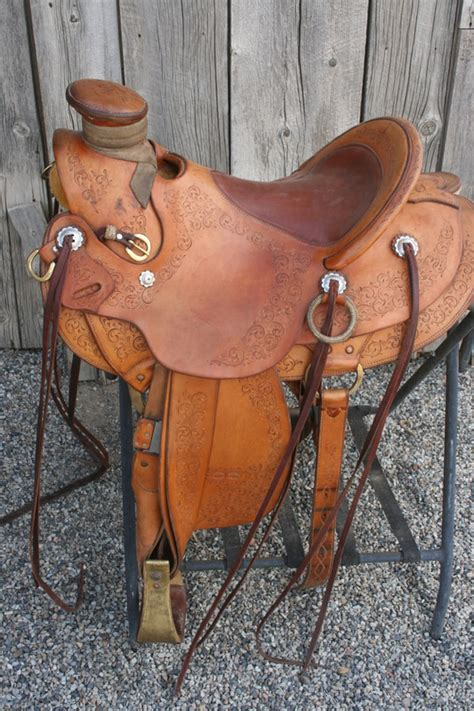 Handmade Ranch Saddles - authentic collectible western gear cowboy collectibles