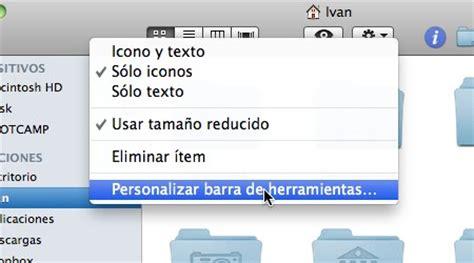 cambiar barra superior mac como personalizar las barras de herramientas de mac