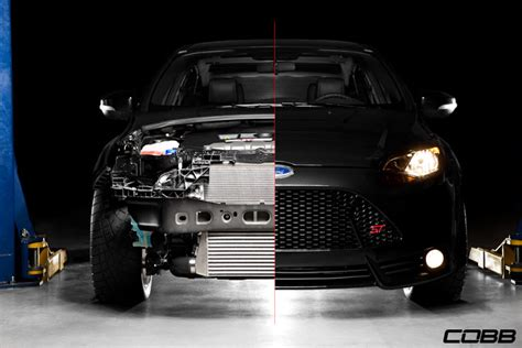 cobb tuning ford front mount intercooler  focus st