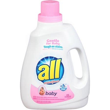 the baby laundry for all 2x baby liquid laundry detergent 100oz walmart com