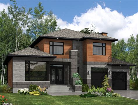 modern style house plan 3 beds 2 50 baths 2410 sq ft
