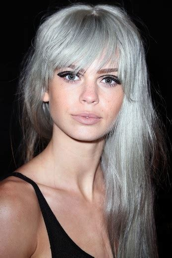 silver color hair in the spotlight grey silver hair is all the rage in