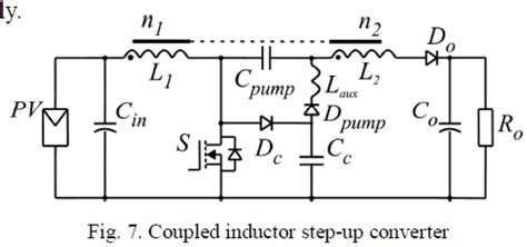 coupled inductor boost converter coupled inductor flyback 28 images figure 4 40 wide range input positive to negative flyback