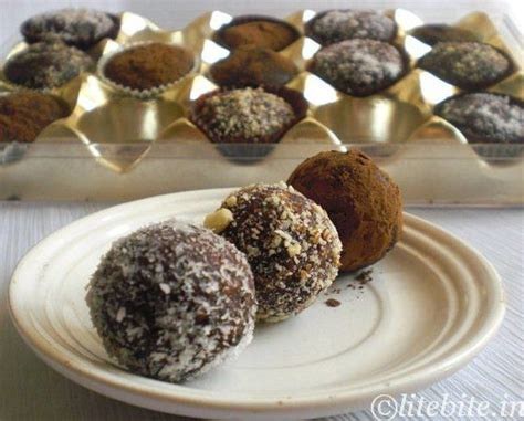 truffles easy desserts and healthy on pinterest