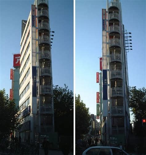 Japanese Design House by Narrower Towers 20 Of Japan S Thinnest Buildings Urbanist