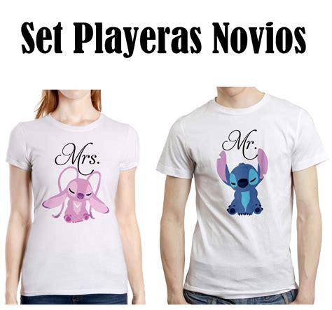 playeras que digan mejores amigos hombre y mujer set novios stitch 3 disney playera hombre mujer