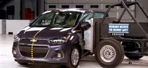 crash test si鑒e auto 2016 chevrolet spark side crash test dpccars