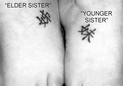 31 charming sister tattoo ideas creativefan