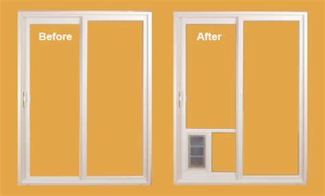 Installation of Pet Door   Sliding Door Conversion Kit