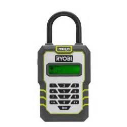 home depot key lock box ryobi tek4 digital key lock box with 4 volt battery and