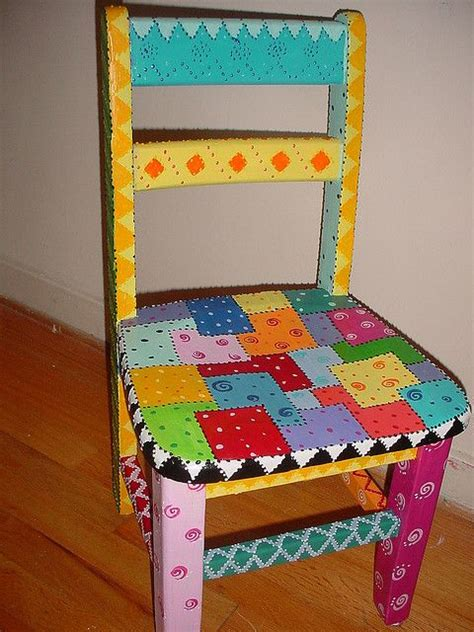 fun furniture painting ideas time out chair paint furniture funky furniture and craft