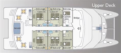 catamaran deck plans galapagos islands ocean spray mega catamaran