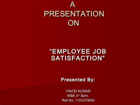 Employee Satisfaction Project Report Mba Ppt by Employee Satisfaction Ppt On Honda
