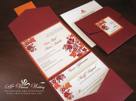 Fall Wedding Invitations 301 moved permanently